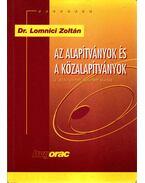 Az alapítványok és a közalapítványok - Dr. Lomnici Zoltán