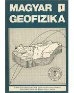 Magyar geofizika XX. évf. 1. szám - dr. Sebestyén Károly