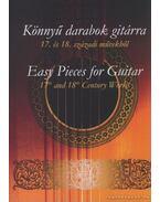 Könnyű darabok gitárra 17. és 18. századi művekből
