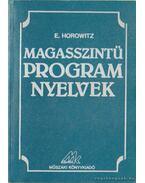 Magasszintű program nyelvek - E, Horowitz