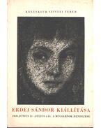 Erdei Sándor kiállítása - Ecsery Elemér
