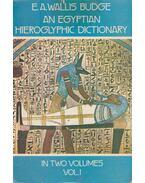 An Egyptian Hieroglyphic Dictionary I-II.