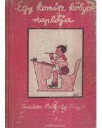 Egy komisz kölök naplója 1918