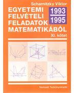 Egyetemi felvételi feladatok matematikából XI. kötet 1993-1995