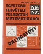 Válogatott egyetemi felvételi feladatok matematikából (1992-1994)