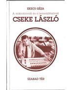 A mikrofonnál és a lemezjátszónál Cseke László (dedikált) - Ekecs Géza
