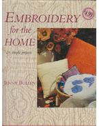 Embroidery for the Home