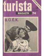 Turista magazin 1974. 1975. teljes (2 évfolyam egybekötve) - Endrődi Lajos