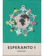 Esperanto 1. - Eszperantó nyelvkönyv