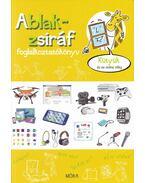 Ablak-zsiráf foglalkoztatókönyv-Kütyük és az online világ - Eszterág Ildikó