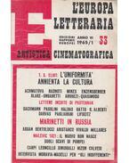 L'Europa Letteraria 1965/33