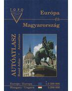 Európa és Magyarország autóatlasz