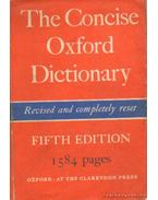 The Concise Oxford Dictionary of current English - F. G. Fowler, H. W. Fowler