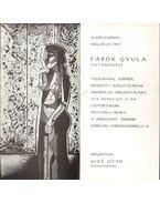 Fabók Gyula tűzzománc képeiből rendezett kiállítás megnyitója (meghívó)