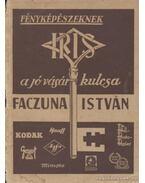 Faczuna István fényképészeti és fototechnikai szaküzlet képes árjegyzéke 1941-42. évre