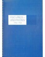Vázlatkönyv 1950-1965 (számozott) (aláírt)