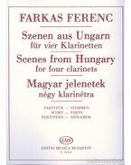 Magyar jelenetek négy klarinétra
