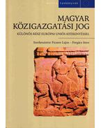 Magyar közigazgatási jog - Fazekas Marianna, Ficzere Lajos