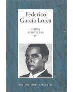 Obras Completas #4 - Federico Garcia Lorca