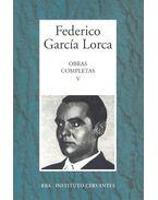 Obras Completas #5 - Federico Garcia Lorca