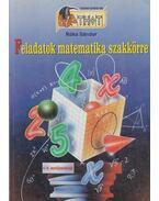Feladatok matematika szakkörre