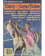 The Magazine of Fantasy and Science Fiction Volume 71, No. 4. - FERMAN, EDWARD L. (ed.)