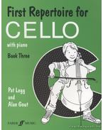 First Repertoire for Cello with piano - Book Three - Legg, Pat, Gout, Alan