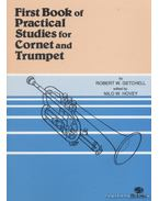 First Book of Practical Studies for Cornet and Trumpet - Getchell, Robert W.