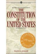 The Constitution of the United States - Floyd G. Cullop