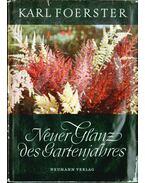 Neuer Glanz des Gartenjahres - Foerster, Karl