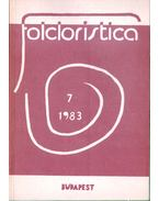 Folcloristica 7. - Az ujrarajzolt nép