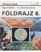 Földrajz 6. - Nagy Vendelné, Udvarhelyi Károly