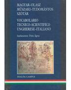 Magyar-olasz műszaki-tudományos szótár - Fóris Ágota