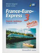 France-Euro-Express 3. Francia tankönyv és munkafüzet