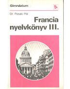 Francia nyelvkönyv III.