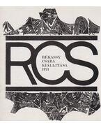 Rékassy Csaba kiállítása 1971 - Frank János