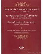 Barokk mesterek variációi szoprán- és altfurulyára