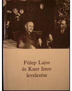 Fülep Lajos és Kner Imre levelezése