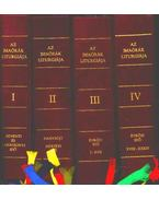 Az imaórák liturgiája I-IV.