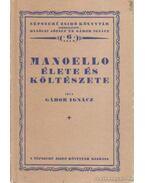 Manoello élete és költészete (reprint) - Gábor Ignácz