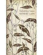 Keserű lapu - Galambos Lajos