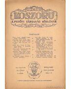 Koszorú 1943. január IX. kötet 2.szám - Gáspár Jenő