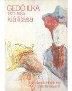 Gedő Ilka kiállítása 1921-1985