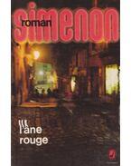 L'ane rouge - Georges Simenon