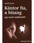 Kántor fia, a bitang - Egy tanár emlékeiből - Gergely Ferenc