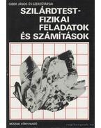 Szilárdtestfizikai feladatok és számítások - Giber János