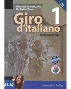 Giro d'italiano 1. Olasz munkafüzet