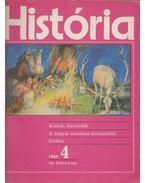 História 1985/4 - Glatz Ferenc