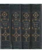 Goethes Werke 1-16 (I-IV. kötet)