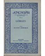 Görgey - Kosáry Domokos